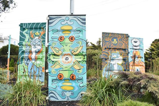 Street Art by MIT in Brooklyn Melbourne