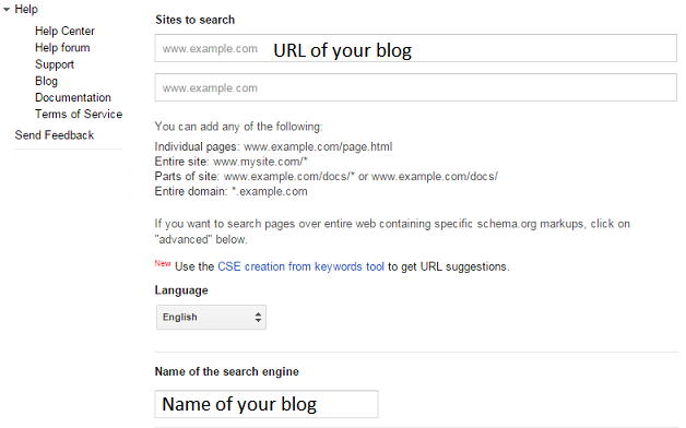 How To Add Google Search Box Widget In Your Blog