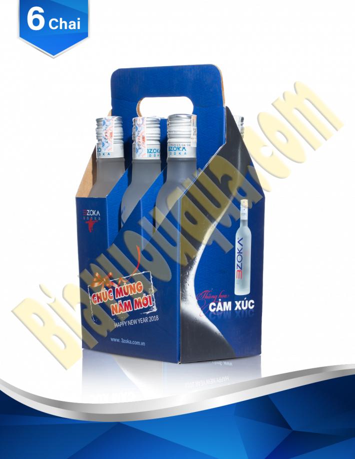 Rượu vodka 3zoka 500ml