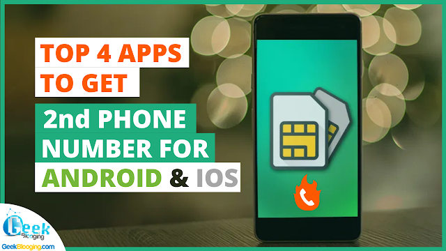 Top 4 Temporary Burner Number Apps [2nd PHONE NUMBER]
