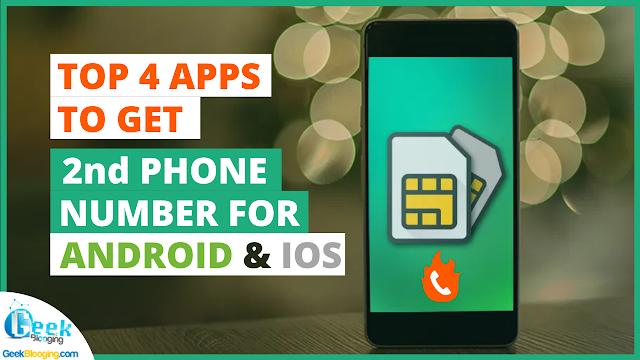 Top 4 Temporary Burner Number Apps [2nd PHONE NUMBER]
