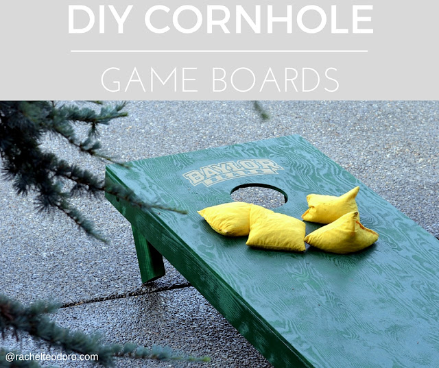corn hole, Baylor university cornhole board game, official rules, sic 'em bears, baylor bears