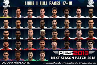 PES 2013 Next Season Patch 2017/2018