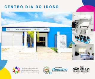 Governador inaugura Centro Dia do Idoso de Registro-SP