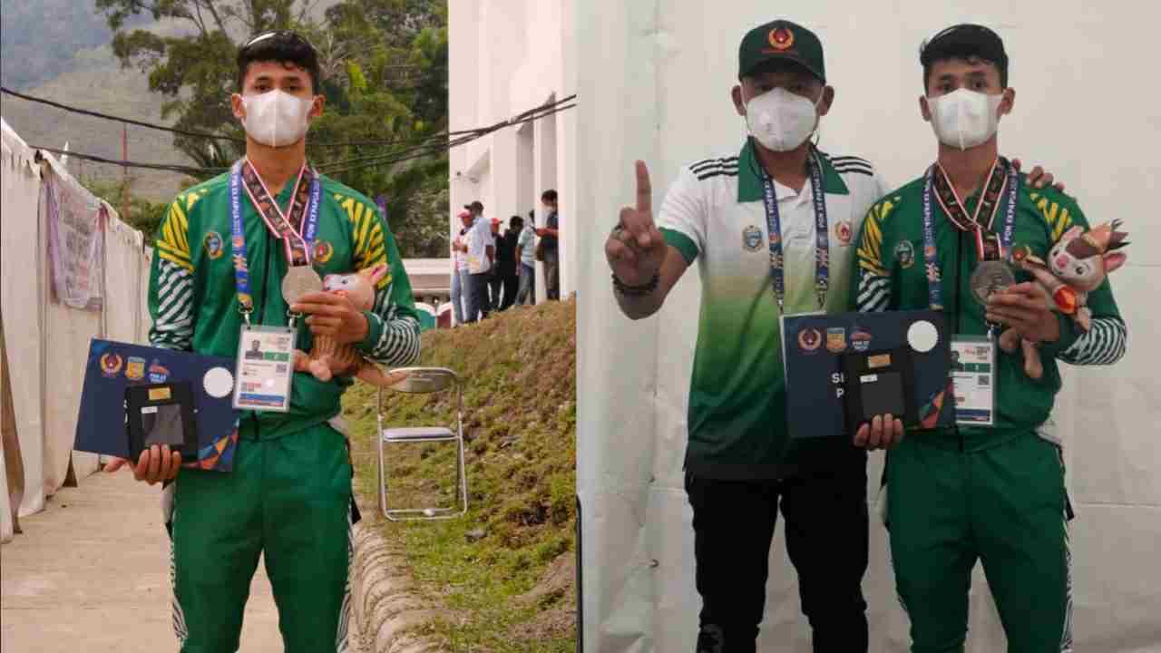 Bripda Muhammad Khadafi Berhasil Sumbang Medali Pertama Kontingen Sumut di PON Papua 2020