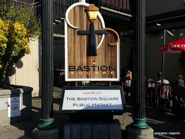 Bastion Square em Victoria