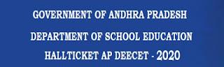 AP DEECET 2020 Hall Ticket (Released) – Download AP DEECET Admit Card at apdeecet.apcfss.in