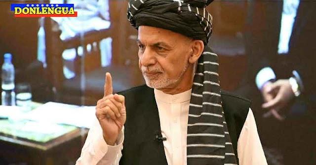 Presidente de Afganistán huyó con 4 carros y un helicóptero repletos de dinero