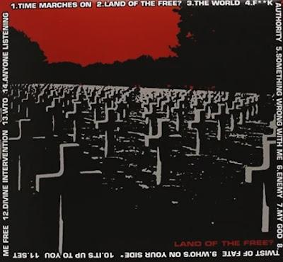 Capa do álbum Land of Free da banda Pennywise.