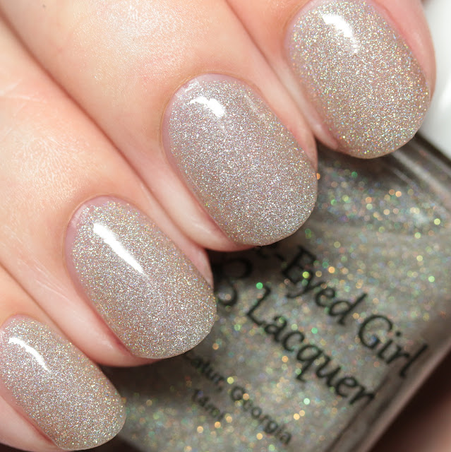 Blue-Eyed Girl Lacquer Starlight in the Gloom