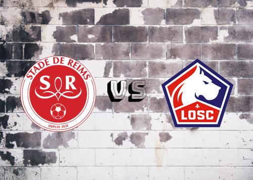 Reims vs Lille  Resumen