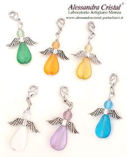 ciondoli angelo regali alunni