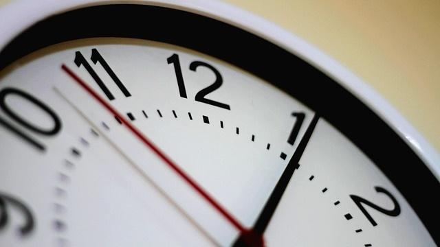 Relógio e pressão