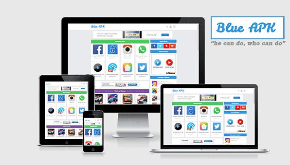 Blue APK adalah templat terbaik untuk situs unduhan aplikasi android Anda.