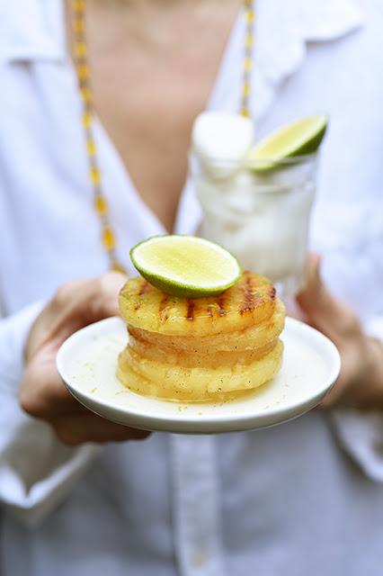 Ananas colonel recette barbecue