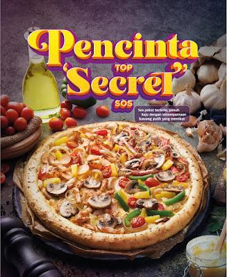 Domino's Presents Top Secret Sauce Pizza,  times four, in a Quattro!