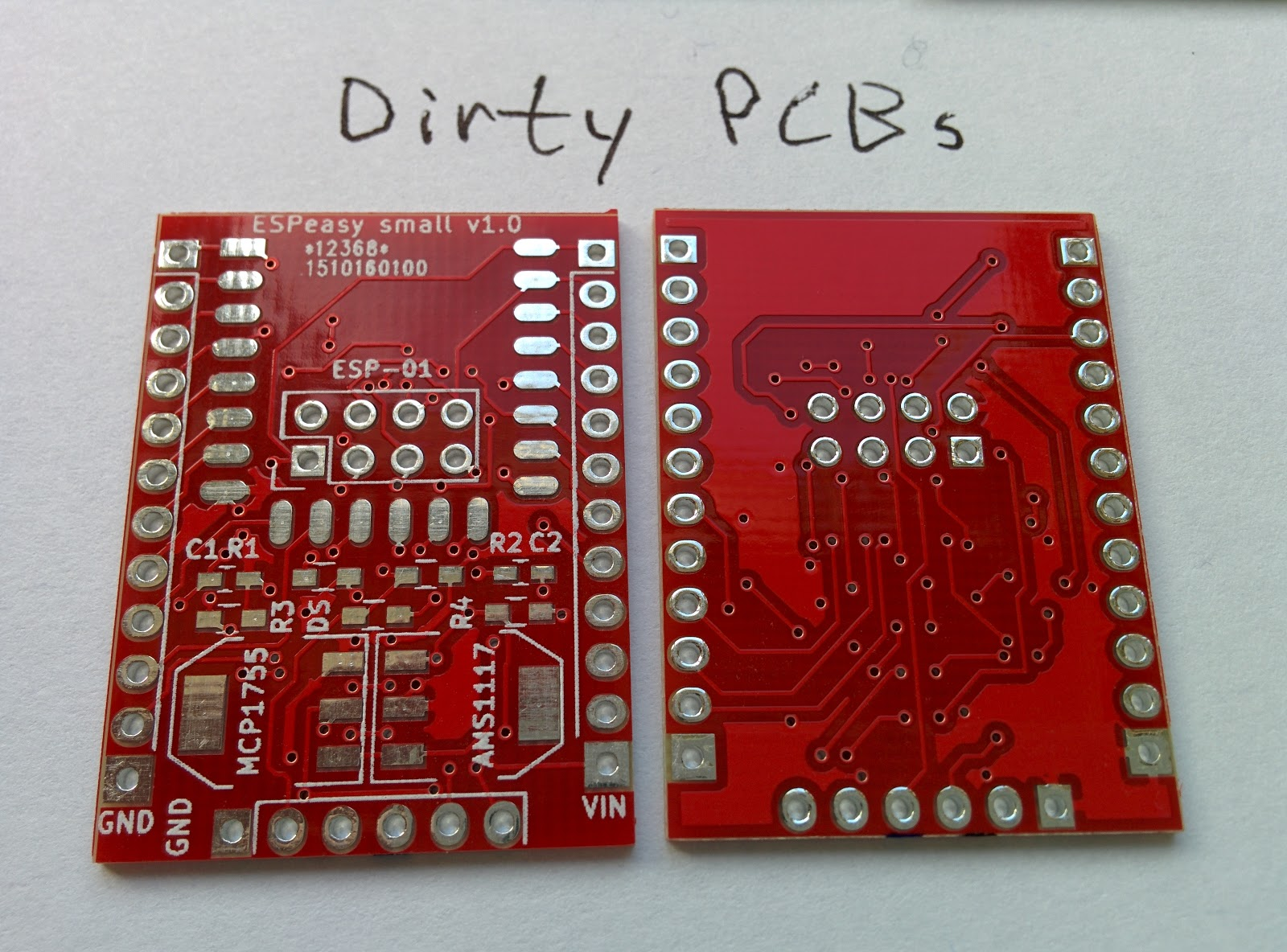 englund: Comparison of cheap PCB manufacturers