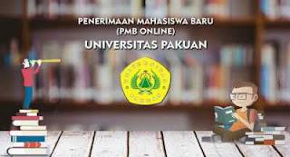Jadwal dan cara daftar PMB online Unpak