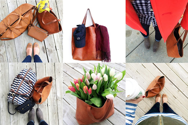 love this madewell tote!