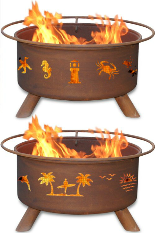 Coastal, Beach and Nautical Firepits by Patina