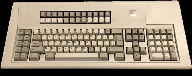 historia del teclado ibm model m