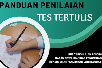 Tutorial Dan Panduan Lengkap Penilaian Tes Tertulis