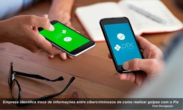 Empresa identifica troca de informações entre cibercriminosos de como realizar golpes com o Pix