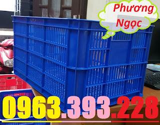 sotrongcao31 - Sọt nhựa rỗng HS004 cao 31, sọt nhựa đựng nông sản, sóng nhựa hở HS004
