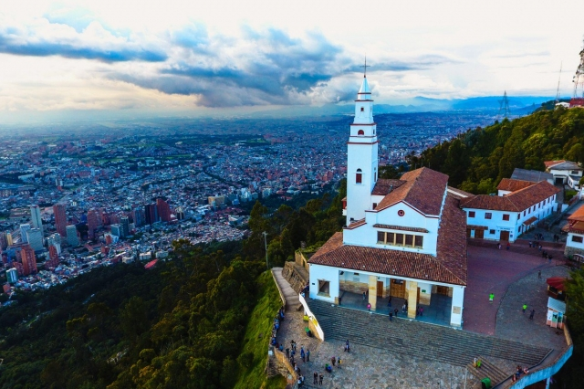 Bogotá, a capital da Colômbia