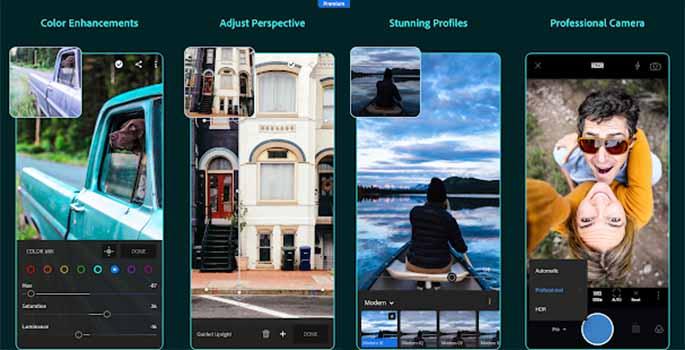 Adobe Lightroom CC apk Mod Premium Terbaru