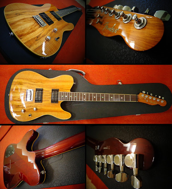 Fender Telecaster Spalted Maple Top