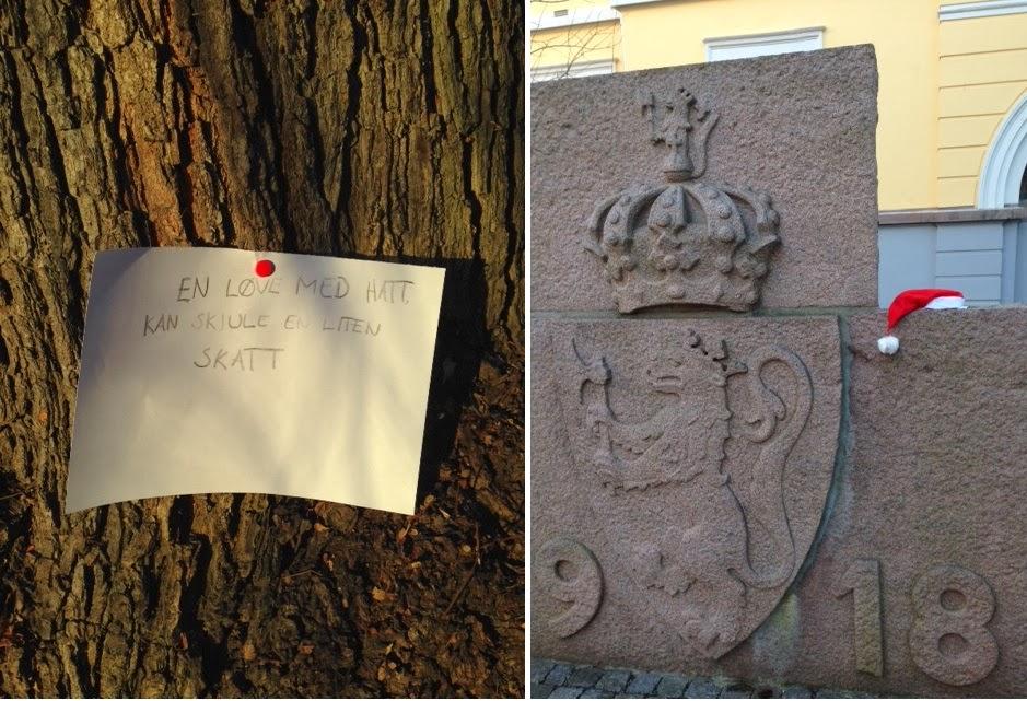 Modish Dr. Brandts barnehage: Julerebus i Pilestredet-park PC-27