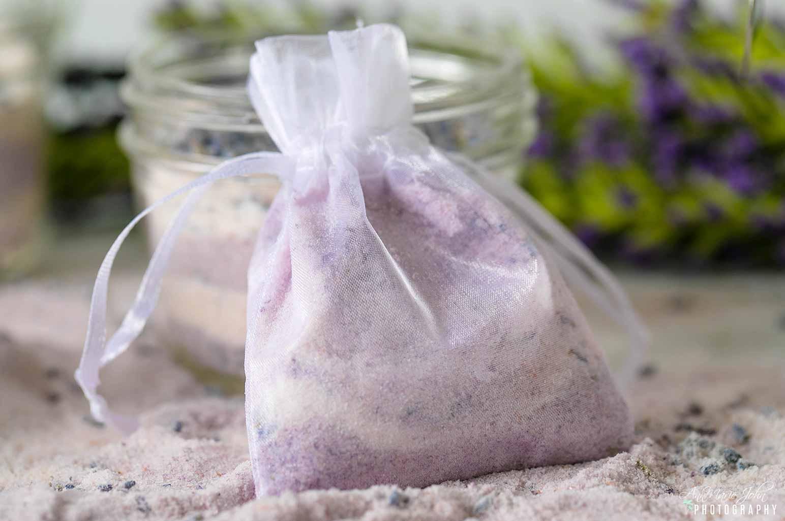 Lavender Bath Soak in Muslin Bag