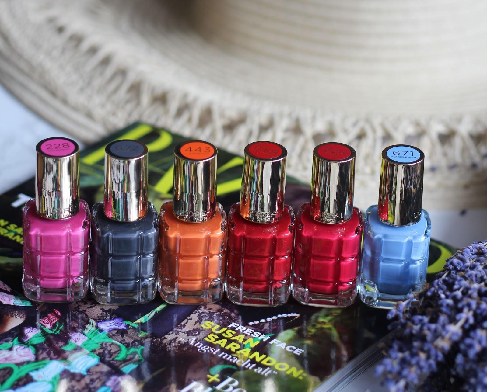L\'Oréal Paris Le Vernis A L\'Huile - neue Sommer Nagellack Farben ...