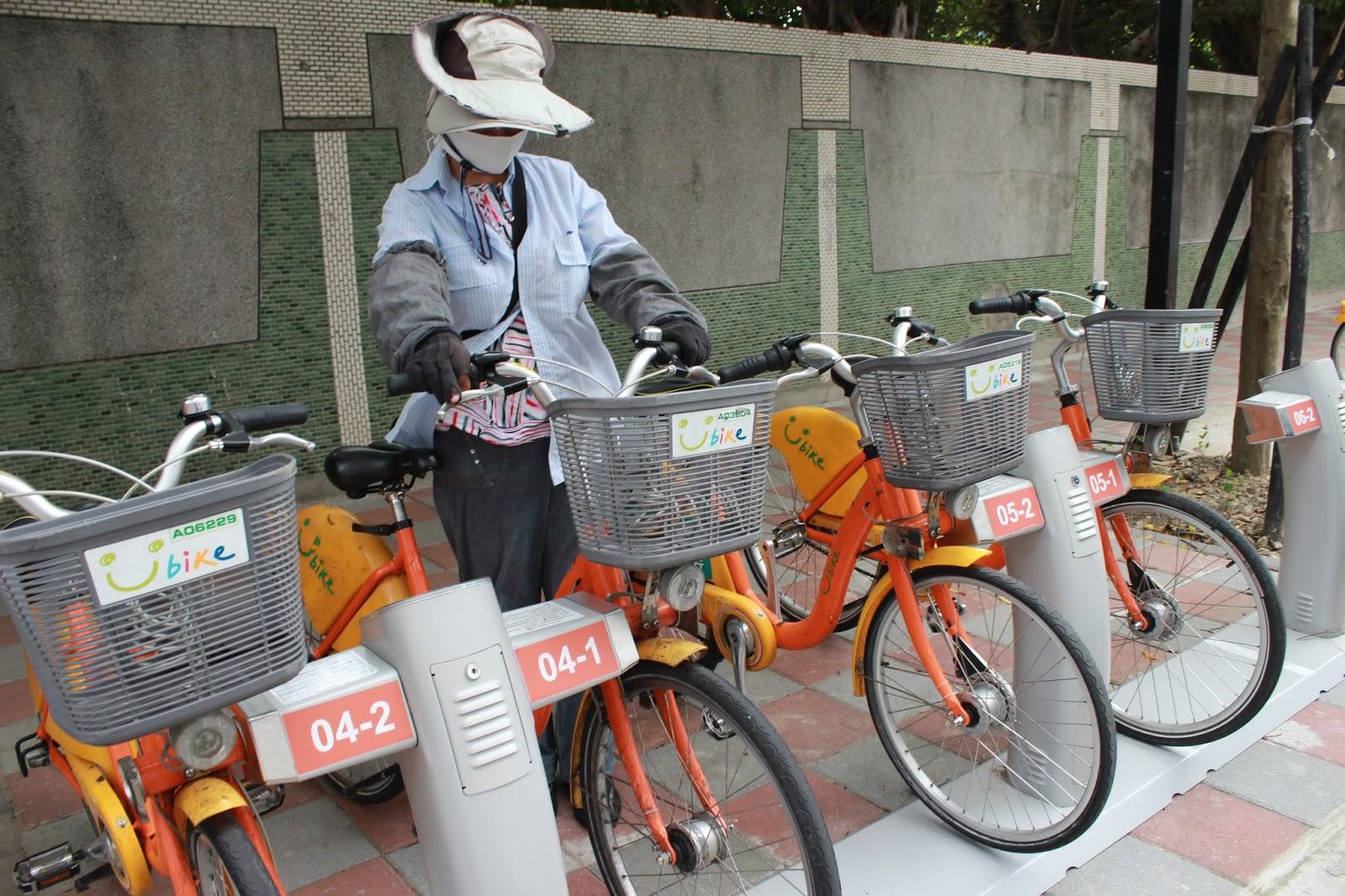 微笑單車方便行 行車安全也要顧