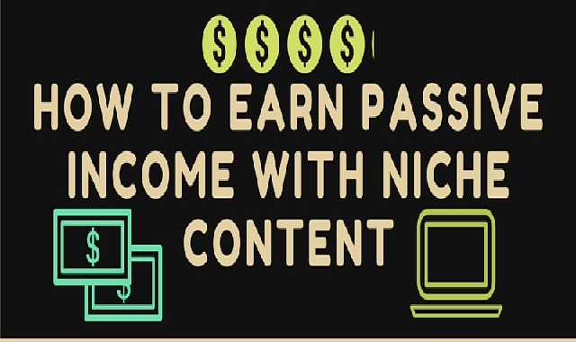 How to Earn Passive Income with a Niche Website #infographic