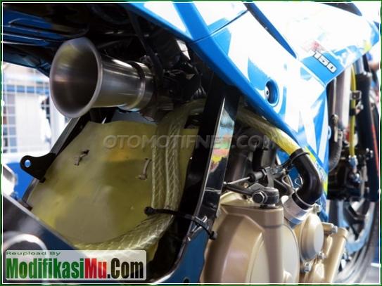 Throttle Body Open Filter Punyanya Velocity Stack - Video Cara Modifikasi All New Suzuki Satria F150 FI Sporty Untuk Balapan Terbaru Sederhana Tapi Keren