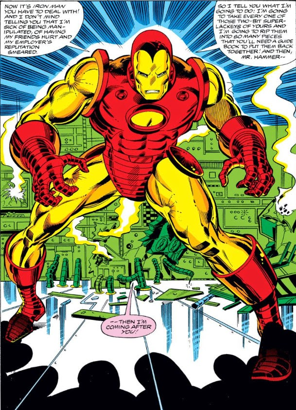 The Peerless Power of Comics!: The Hammer Strikes!