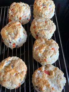 Red Pepper Scones