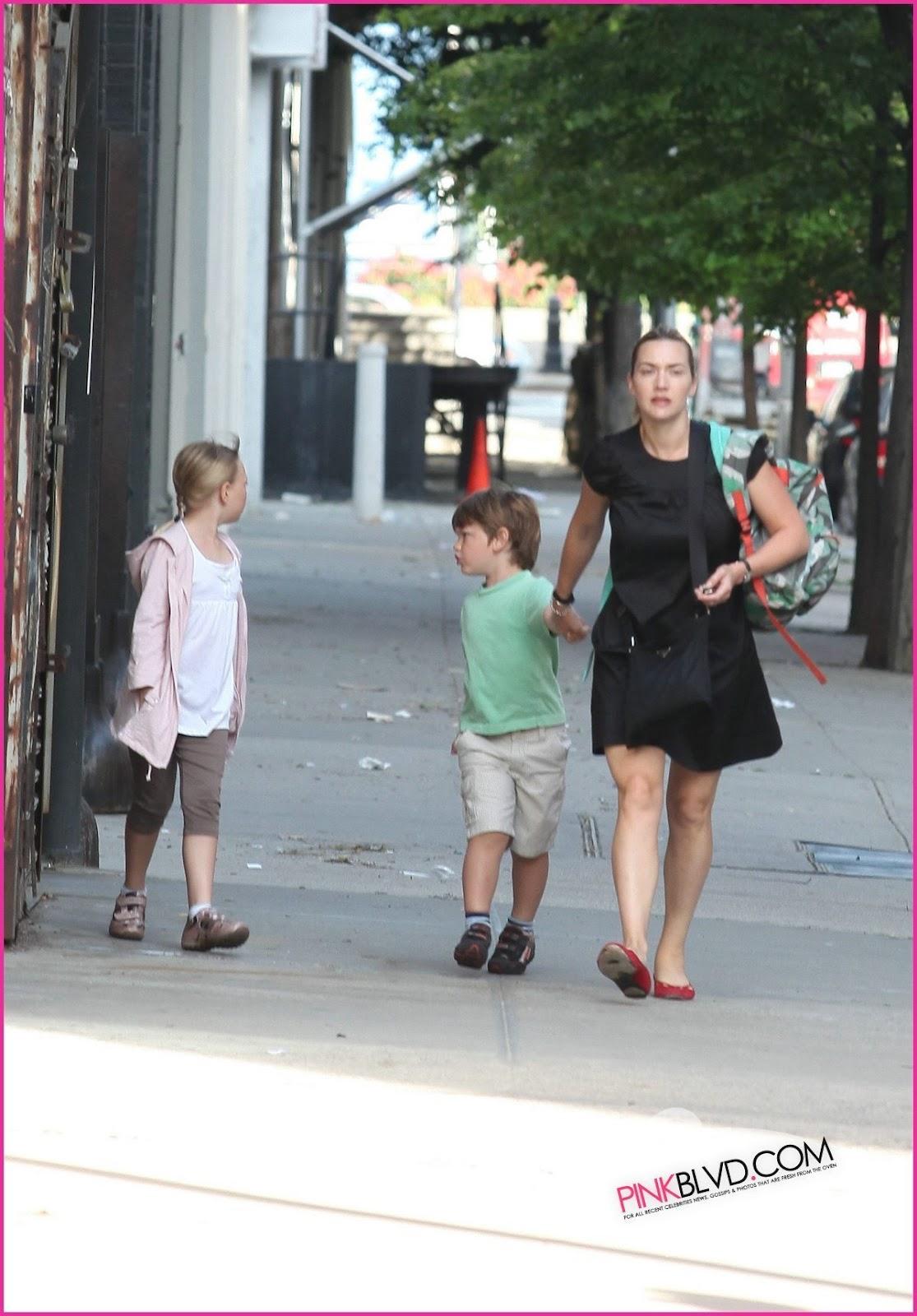 Kate winslet kids 2014