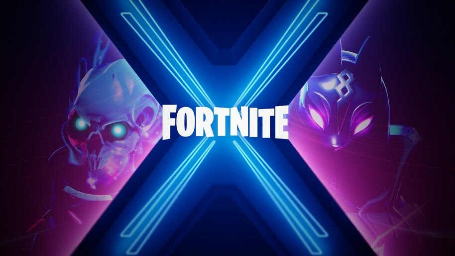 Wallpaper Fortnite X