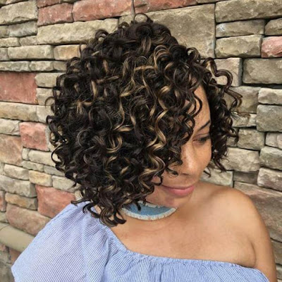 All ladies have that inner need to appear stunning after they face the crowd ✘ 39 Amazing Afro Crochet Braids Ponytails with Hair Accessories To Copy