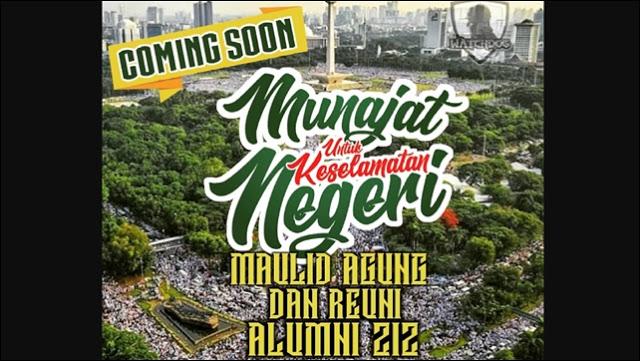 Alumni 212 Akan Reuni Akbar di Monas, Habib Rizieq Direncanakan Hadir