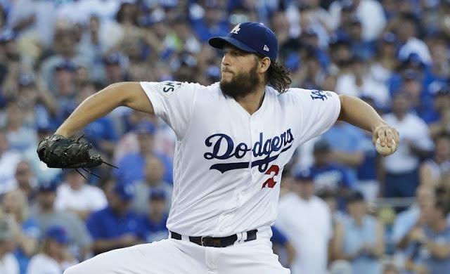 Kershaw, Dodgers beat Astros 3-1