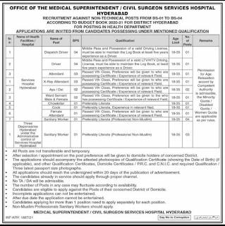 Health Department Jobs