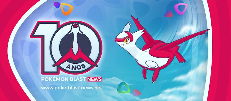 Pokémon Blast News 10 Anos