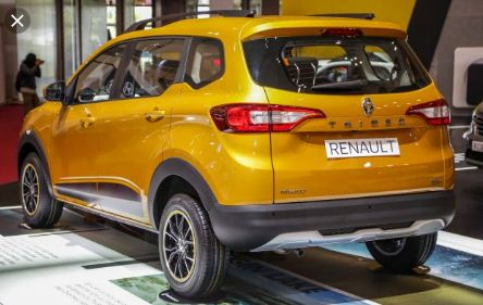 Renault Triber 2019 Rear View