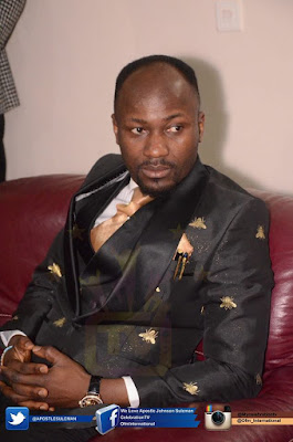 Apostle Suleman's Recipes For A Successful Spiritual Life