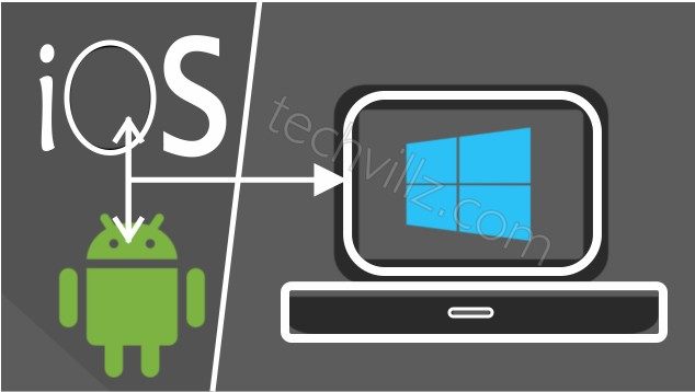 techvillz How To Connect Your Android/iPhone To Windows 10 PC