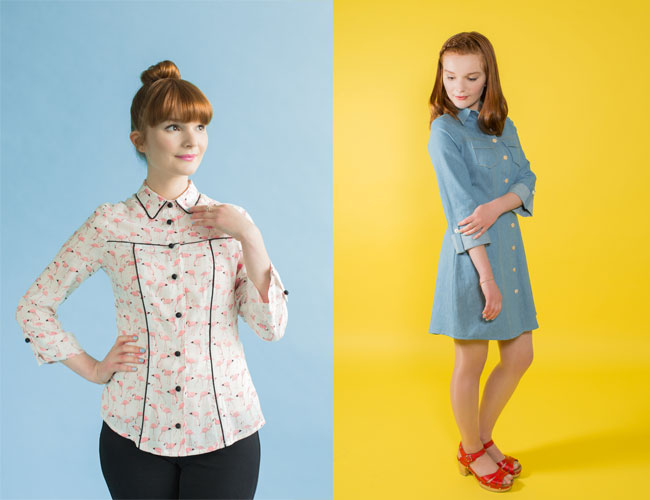 Rosa sewing pattern - Tilly and the Buttons